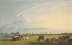 View of Calcutta from the Glacis of Fort William